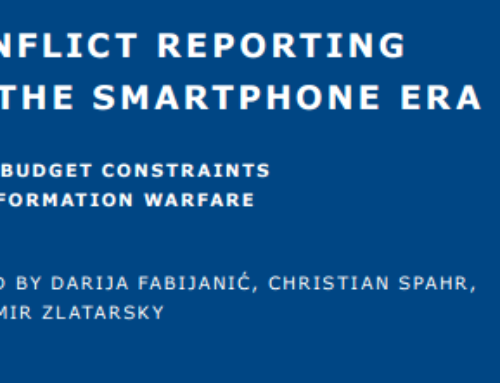 Conflict Reporting in the Smartphone Era – From Budget Constraints to Information Warfare