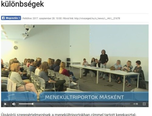 EVENT: #MyStory 3rd of Hungarian Moving Image and Media Education Association in Budapest, Hungary
