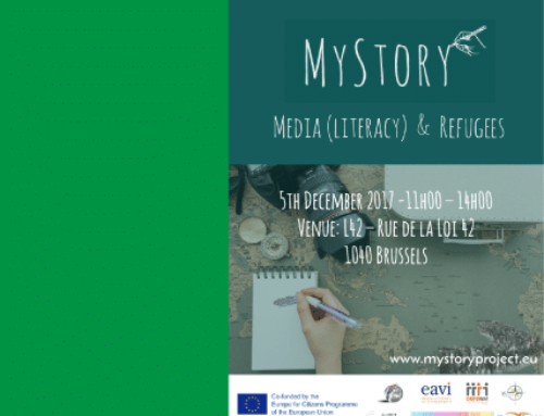 EVENT: #MyStory Final Event. Media (Literacy) and Refugees.